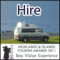 Motorhome Hire & Campervan Hire Scotland