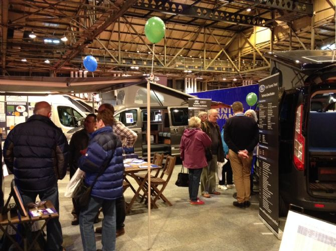 Scottish Caravan and Camping Show Glasgow