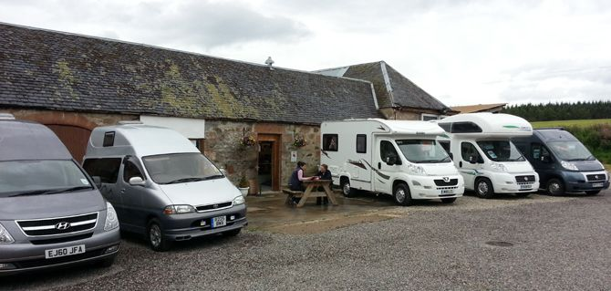 Buying a Motorhome in Scotland